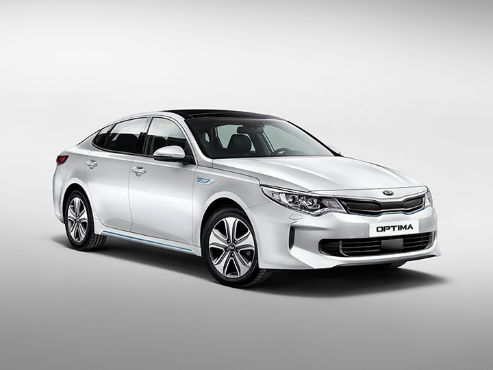 Bil Kia Optima Plug-In Hybrid