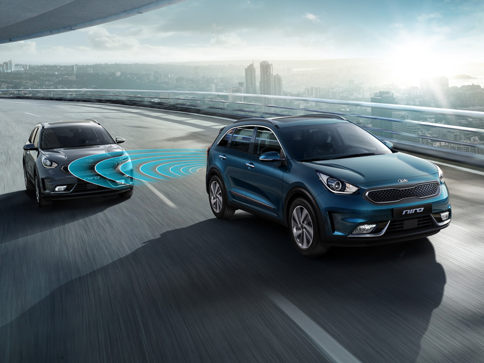 Kia Niro Plug-in Hybrid blind spot detection