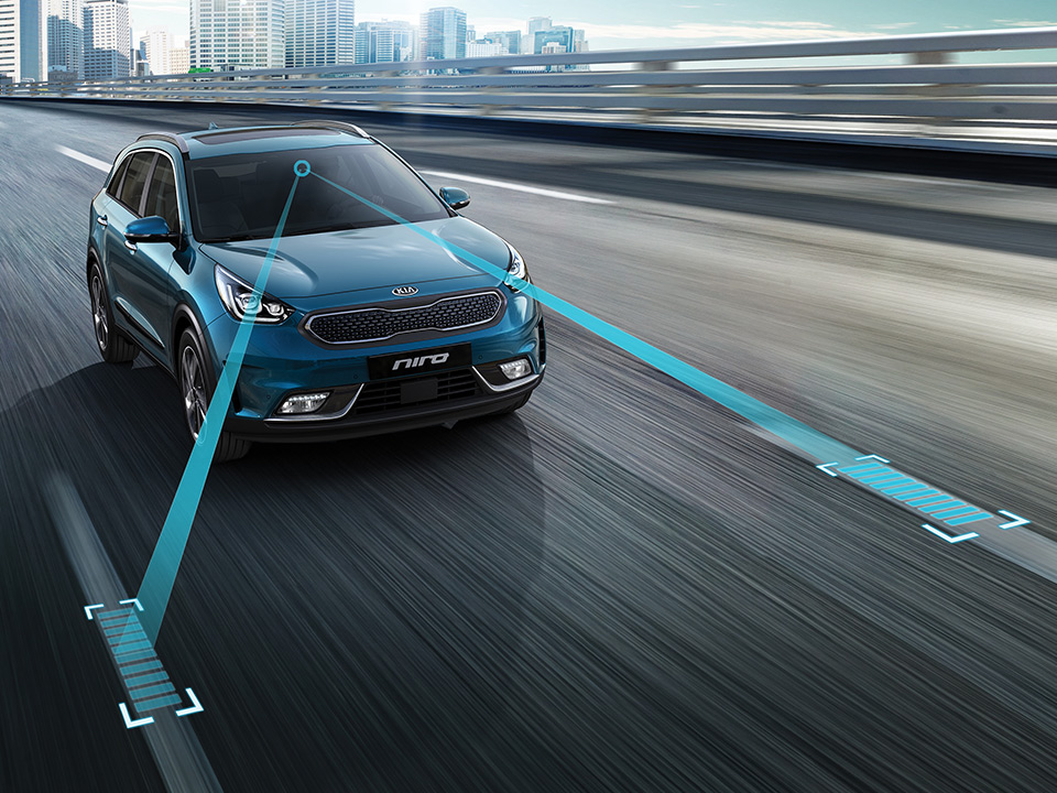 Kia Niro lane keep assist system