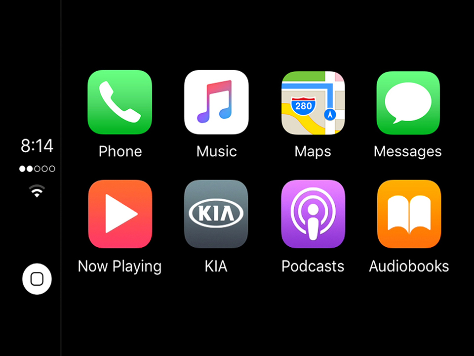 Bil Kia Picanto Apple CarPlay™