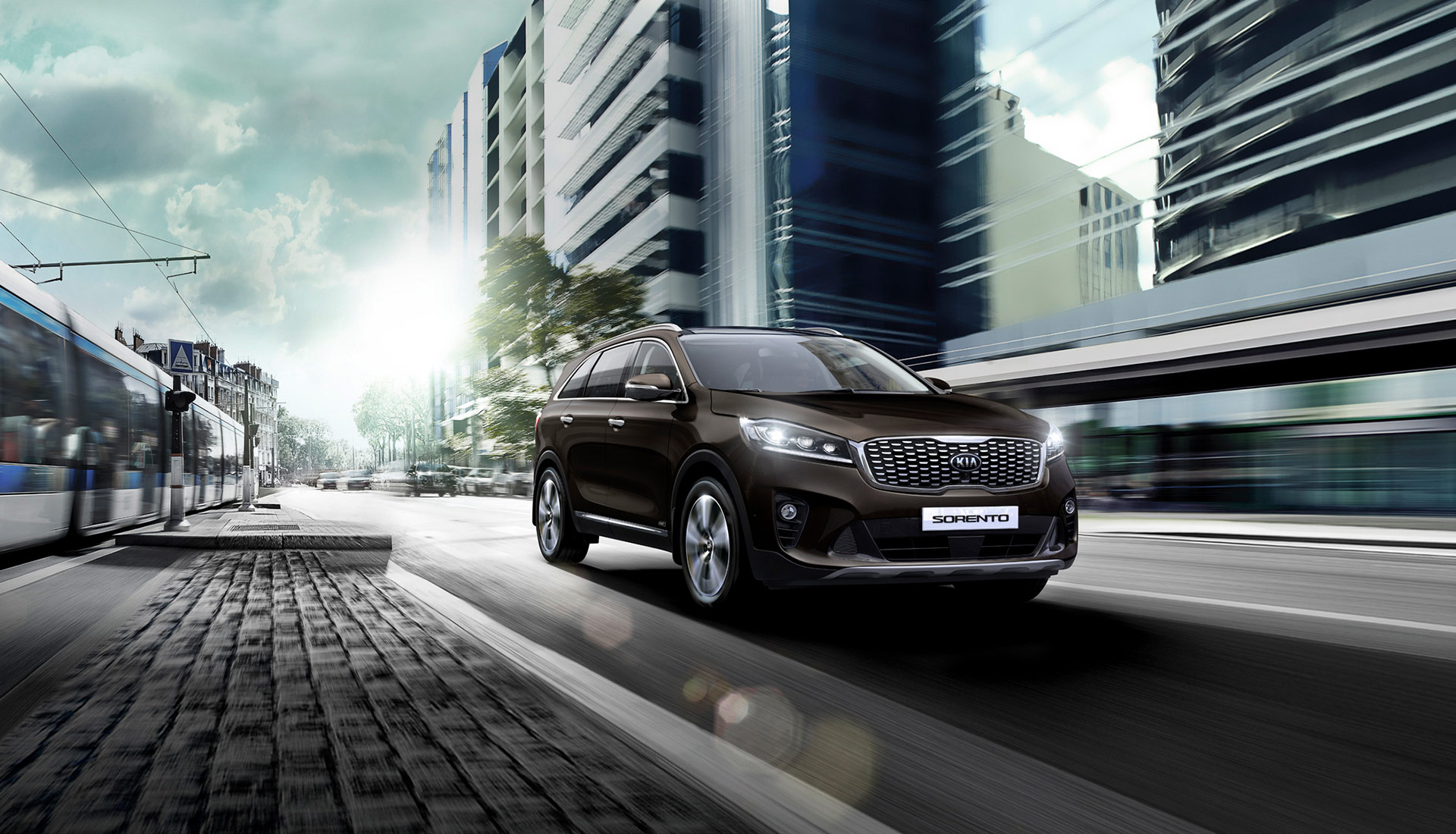 The new Kia Sorento