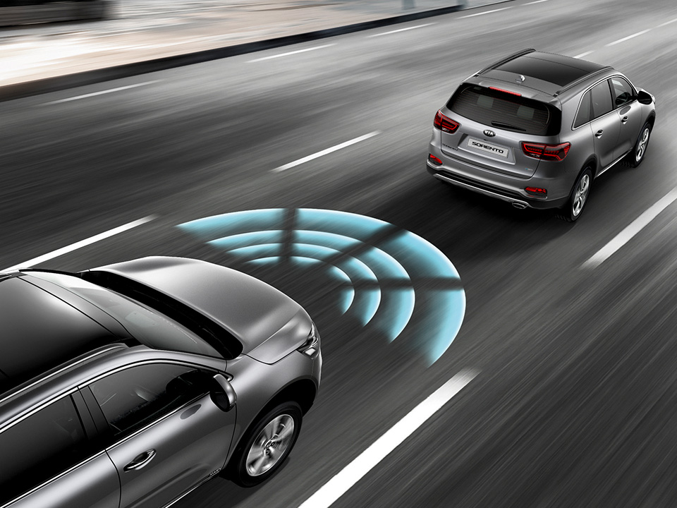 Kia Sorento advanced smart cruise control