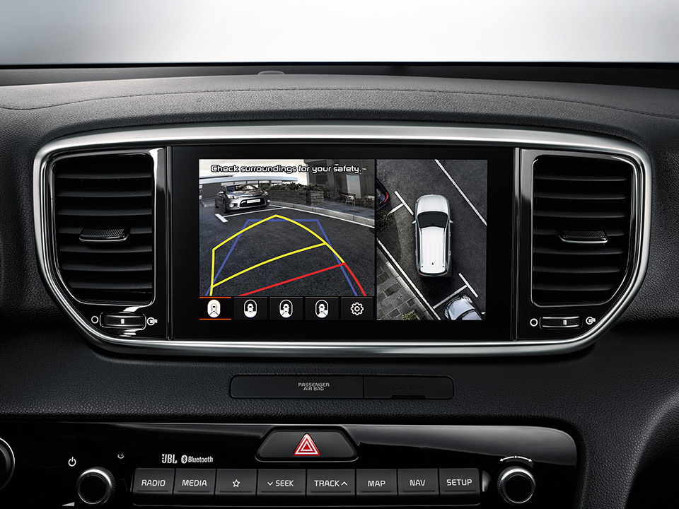 Kia Sportage – Around view monitor