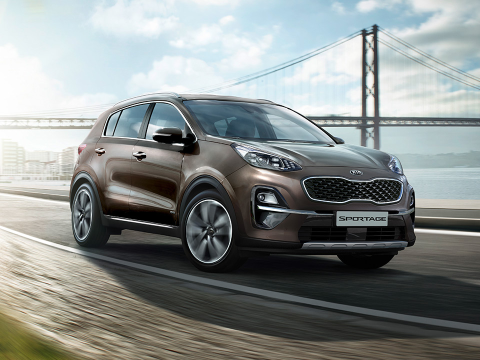 Kia Sportage dynamic design