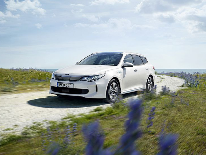 Kia Optima Sportswagon kombi Plug-In Hybrid
