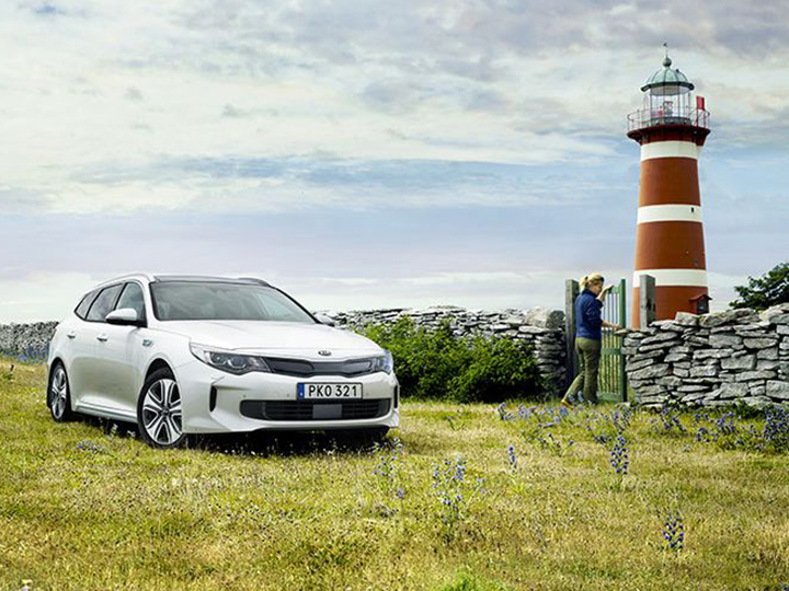 Bil Kia Optima Sportswagon Plug-In Hybrid