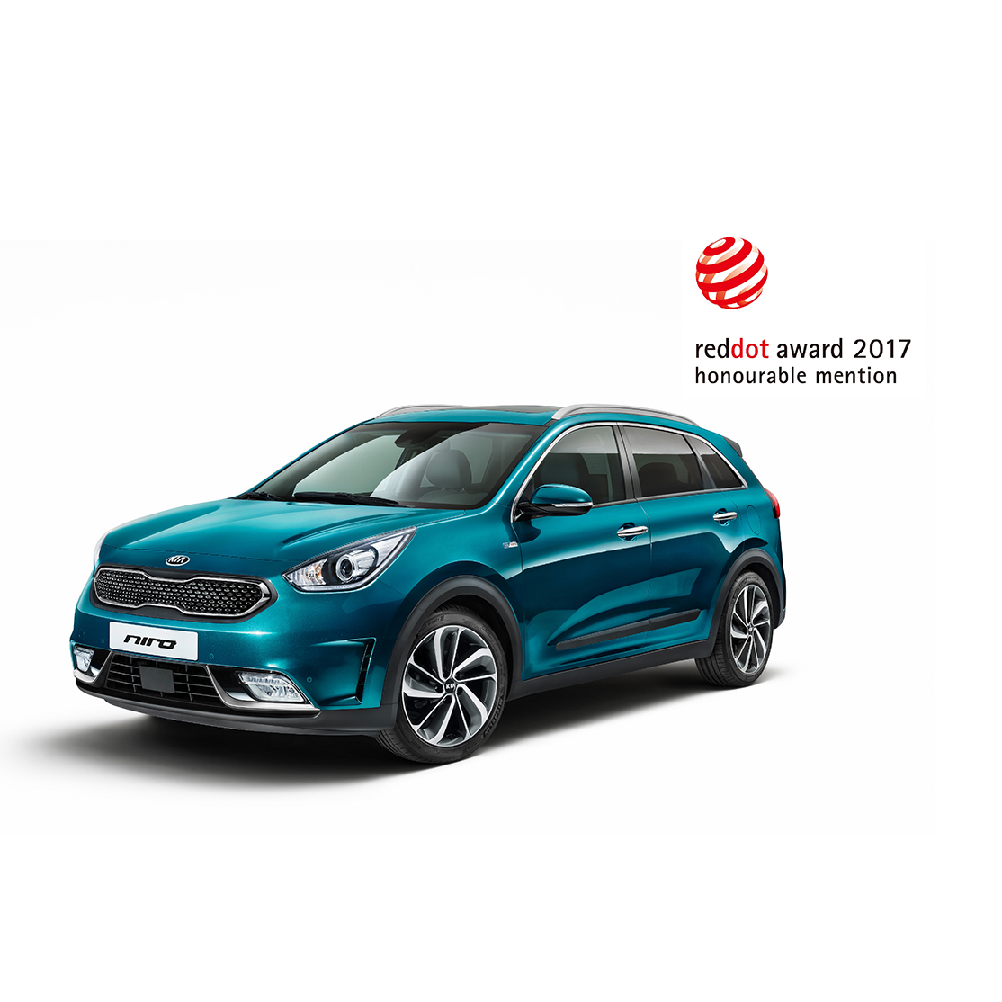 Bil Kia Niro red dot design award