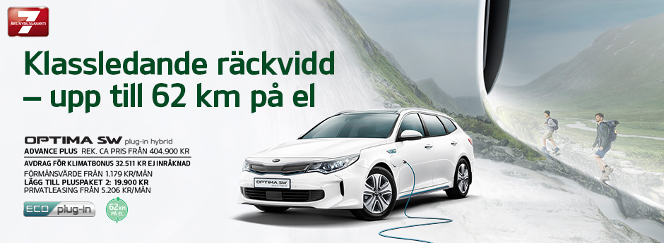 Kia Optima Sportswagon plug-in hybrid | Kia Motors Sweden