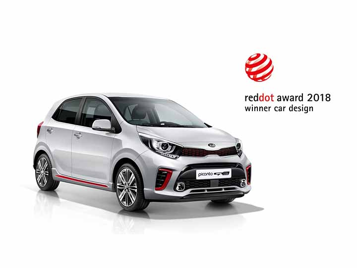 Bil Kia Picanto red dot award